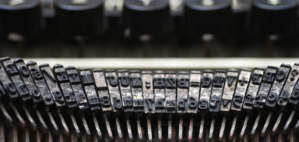 Vintage Typewriter Copywriting