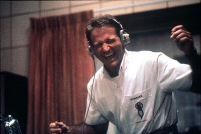 "Good grief does this bring memories - Robin Williams in ""Good Morning Vietnam""."